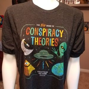 Conspiracy Theories Tshirt Size Large